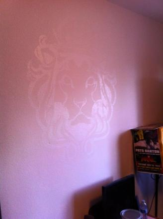 lion mural 2