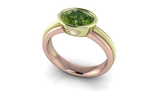 Green Diamond Line3