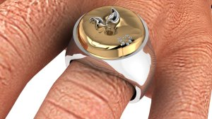 Men's Apple Ring1